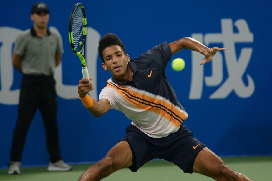 Félix Auger-Aliassime... (Photo archives Agence France-Presse)