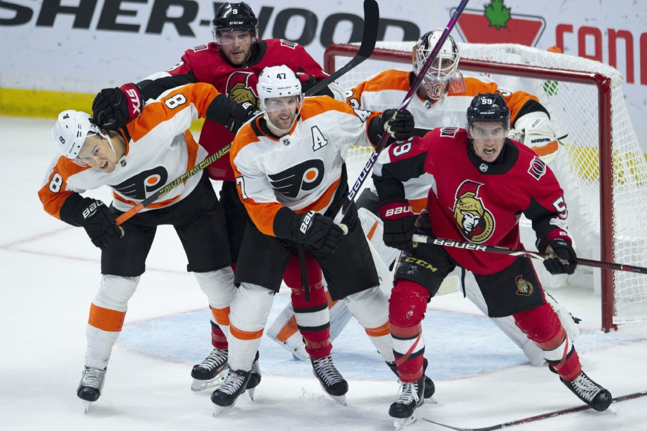 On dénotait environ6000 sièges videspour le match d'hier... (Photo Adrian Wyld, La Presse canadienne)