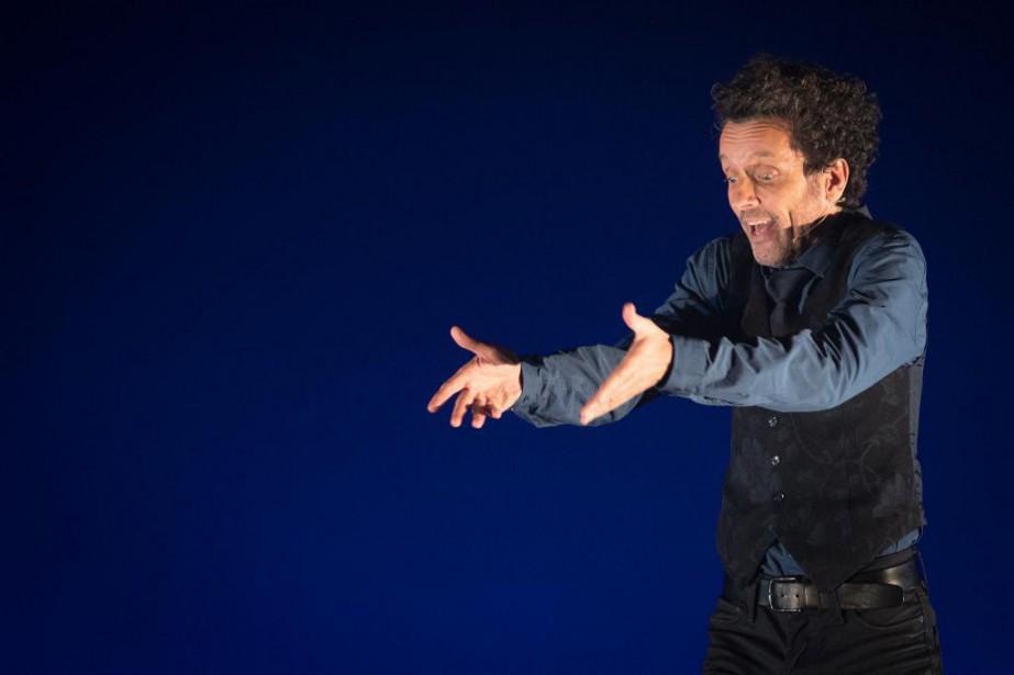 André Sauvé raconte dans son spectacle les fameux... (PHOTO OLIVIER JEAN, LA PRESSE)