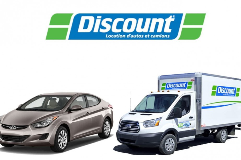 Discount est la quatrième société de location de... (Photo fournie par Discount)