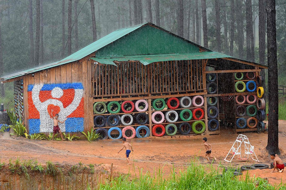 Située à une centaine de kilomètres de Phnom... (Photo TANG CHHIN SOTHY, AFP)