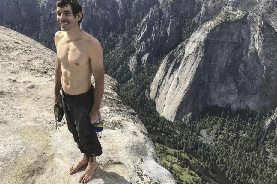 Pendant deux ans, le grimpeur américain Alex Honnold... (Photo Jimmy Chin, fournie par National Geographic)