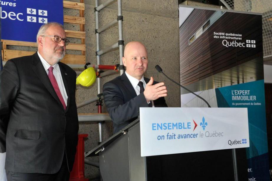 Longtemps dans l'ombre de ses mentors, Yves Ouellet... (photo tirée du site de la Société québécoise des infrastructures)
