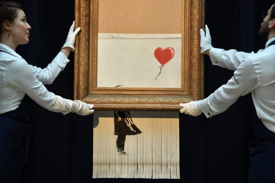 La maison d'enchères Sotheby's a confirmé jeudi la... (Photo BEN STANSALL, AFP)
