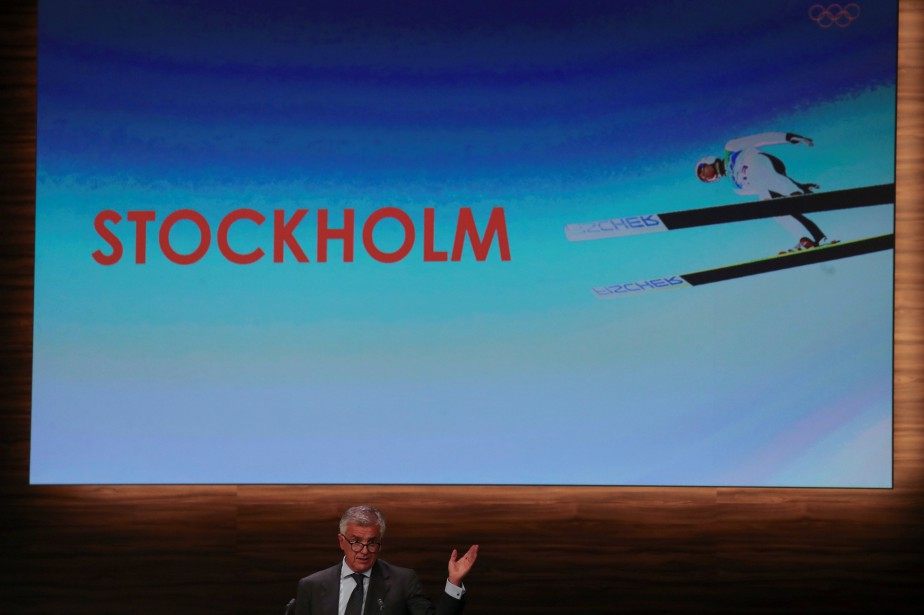 Si Stockholm abandonne, le CIO restera avec Calgary... (Photo MARCOS BRINDICCI, Reuters)