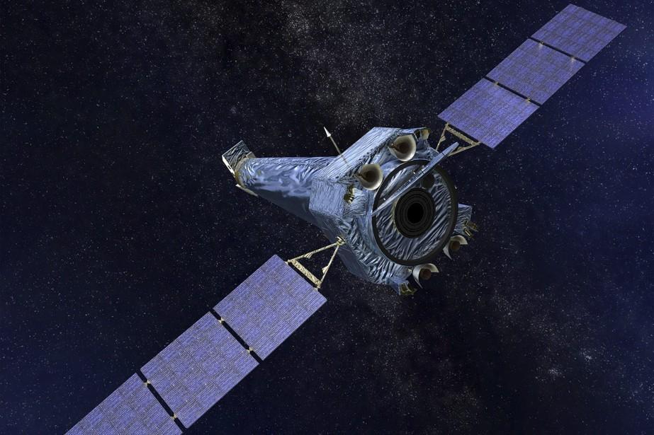 Hubble est dans l'espace depuis 28ans et Chandra... (Photo AP)