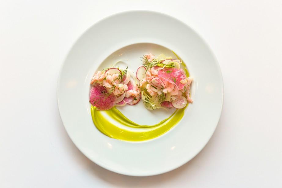 Des plats inspirés d'une oeuvre de la collection... (PHOTO FOURNIE PAR LE RESTAURANT DE L'ITHQ)