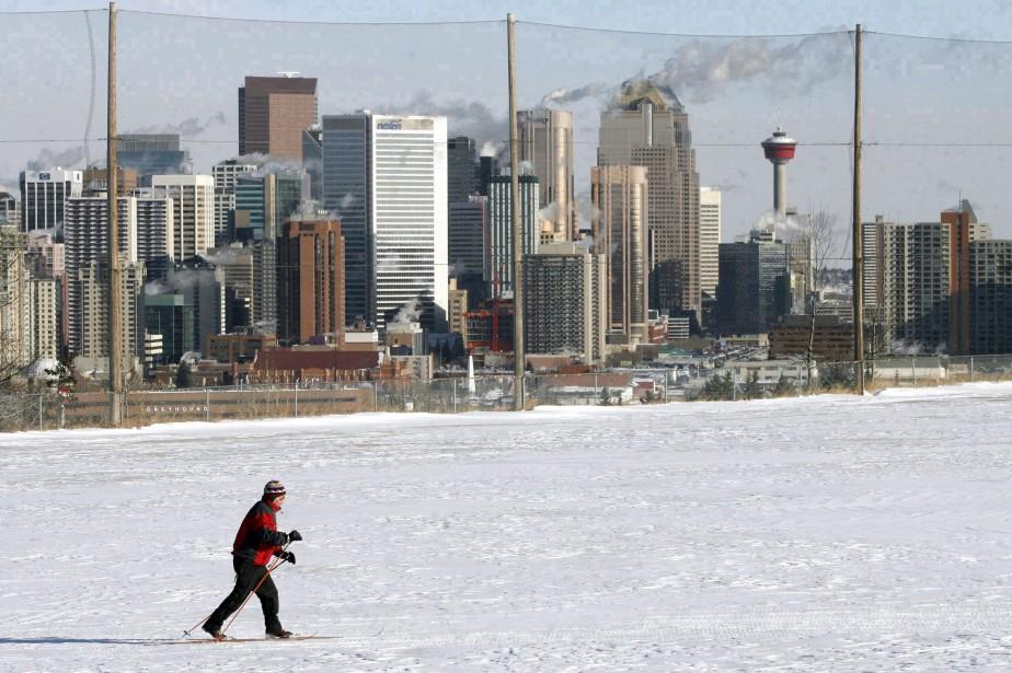La ville de Calgary tiendra un référendum le... (Photo Jeff McIntosh, archives La Presse canadienne)