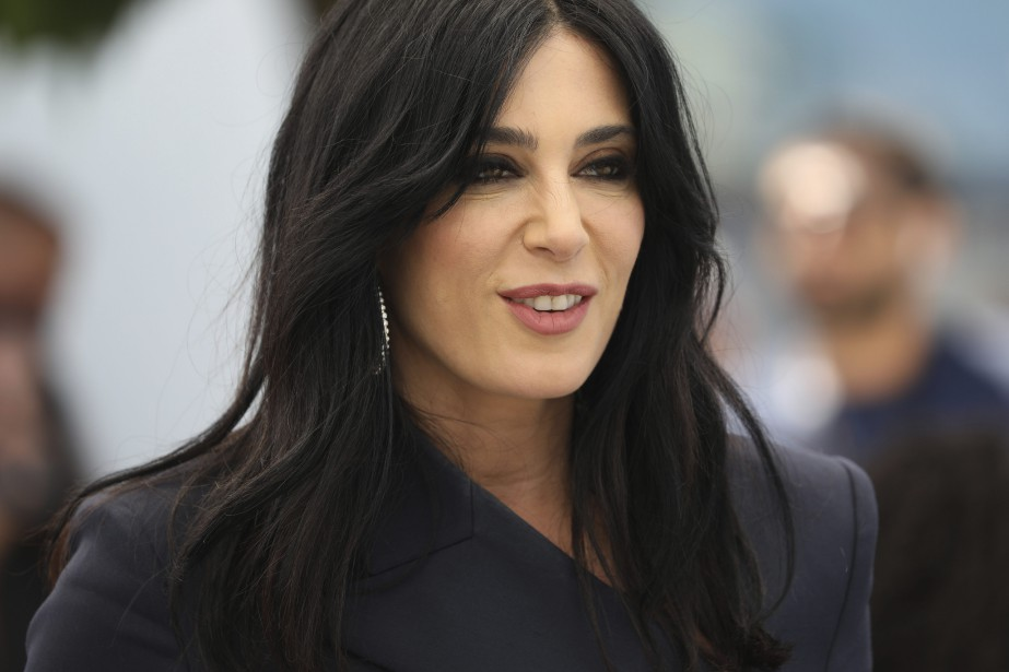 Nadine Labaki lors de la projection de Capharnaüm... (Photo Vianney Le Caer, archives AP)