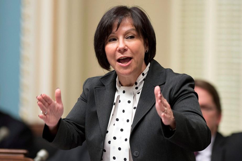 Élue députée de Richelieu en 2012,Élaine Zakaïb a... (PHOTO JACQUES BOISSINOT, ARCHIVES LA PRESSE CANADIENNE)