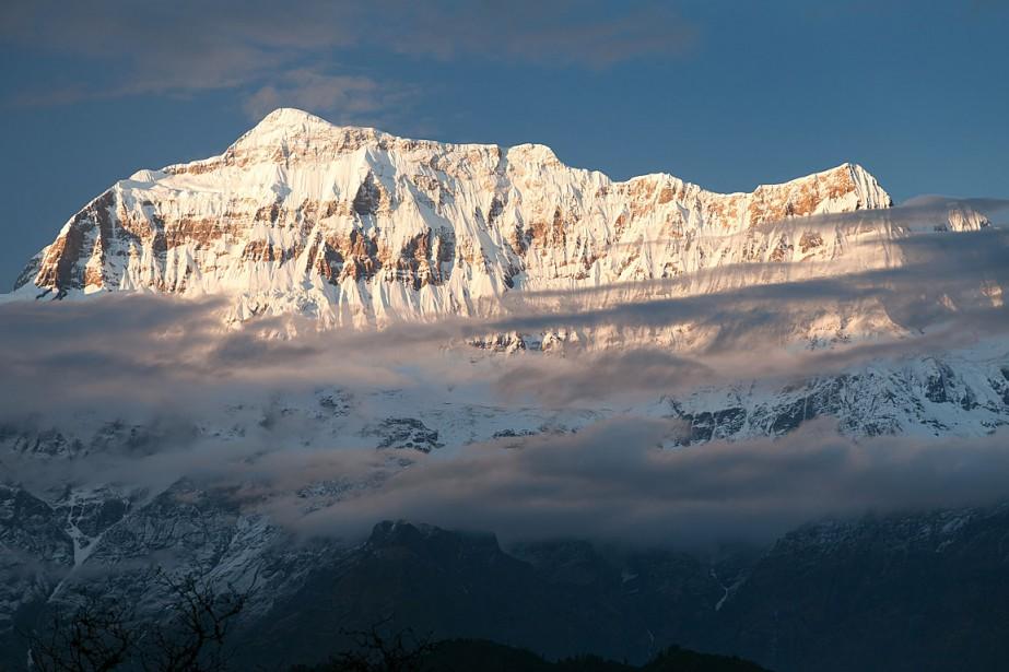 «Une expédition alpine de cinq Sud-Coréens et quatre... (PHOTO GETTY IMAGES)