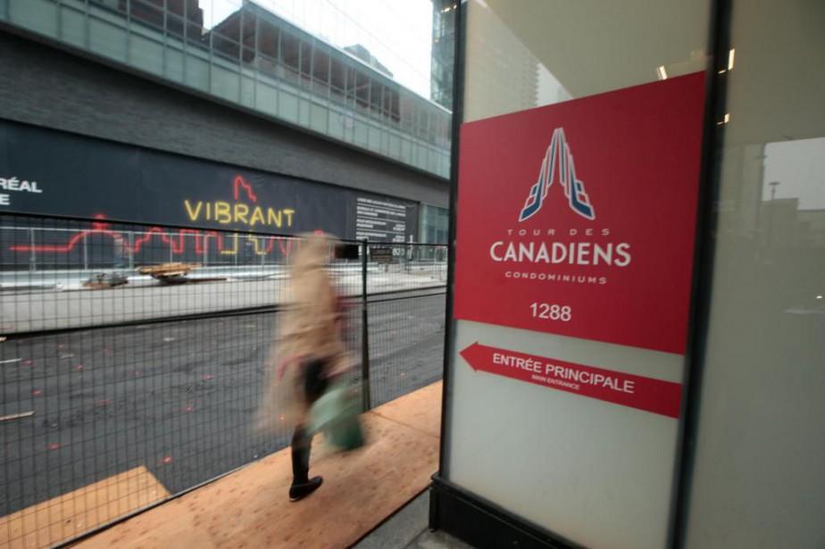 Revenu Québecest descendue au 1288, avenue des Canadiens-de-Montréal... (Photo Martin Tremblay, La Presse)