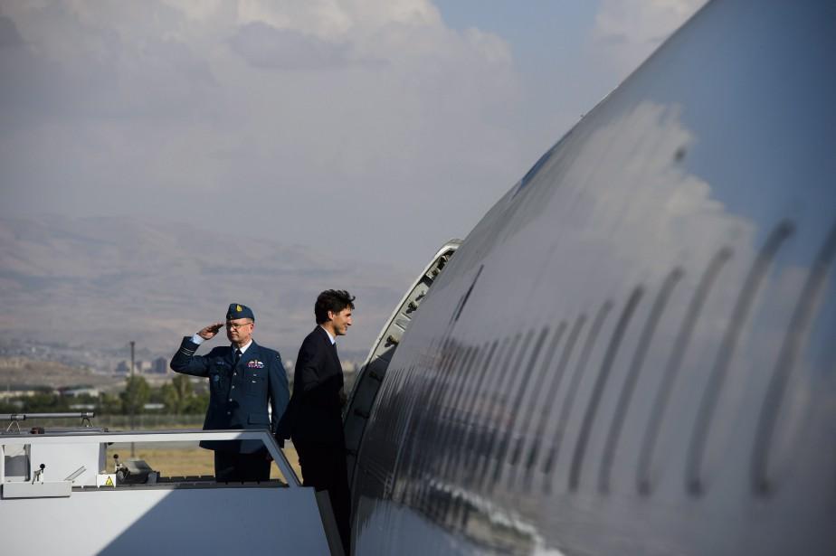 Le premier ministre canadien a réitéré sa volonté... (Photo Sean Kilpatrick, La Presse canadienne)