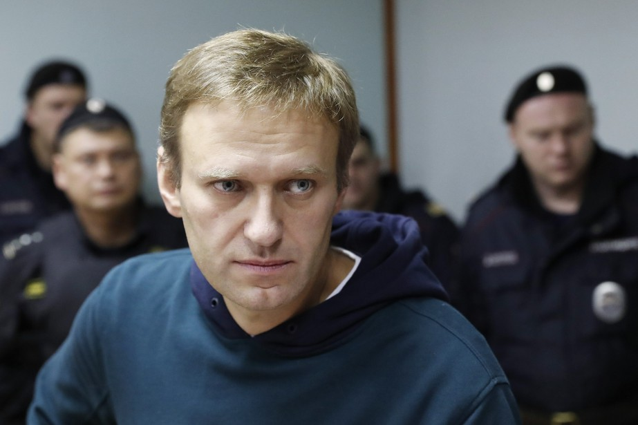 Le 28 août, Navalny a été condamné à... (Photo Pavel Golovkin, Archives AP)