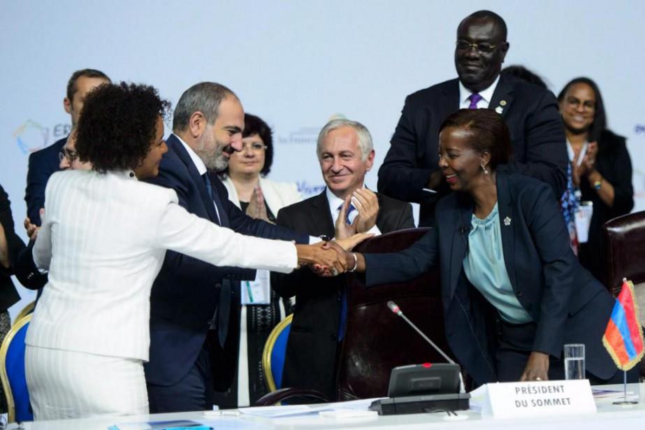 La secrétaire générale sortante de l'Organisation internationale de... (Photo Sean Kilpatrick, La Presse canadienne)