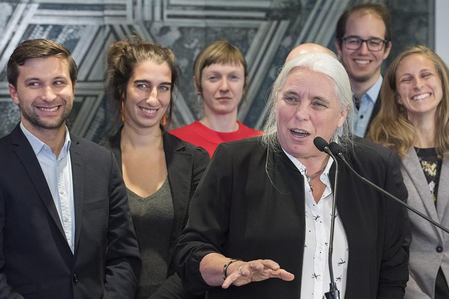 ManonMassé assumera le rôle de chef parlementaire et... (Photo Graham Hugues, La Presse canadienne)