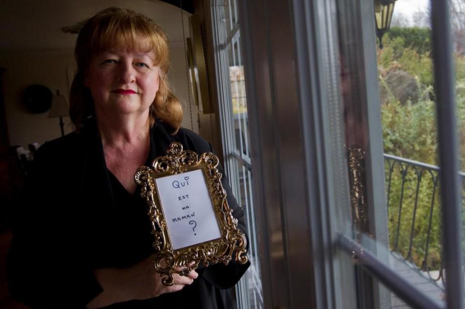 À la recherche de sa mère biologique, Diane... (PHOTO IVANOH DEMERS, ARCHIVES LA PRESSE)