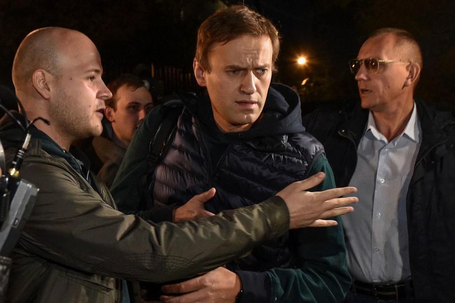 Farouche opposant au président Vladimir Poutine, Alexeï Navalny... (Photo VASILY MAXIMOV, Agence France-Presse)