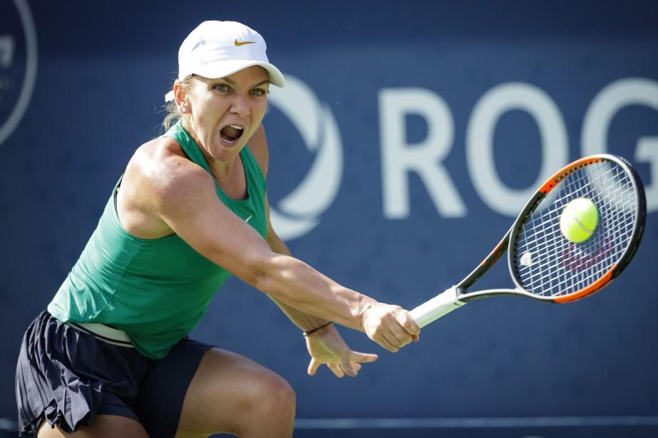 Simona Halep a connu sa meilleure année sur... (Photo Olivier Jean, La Presse)