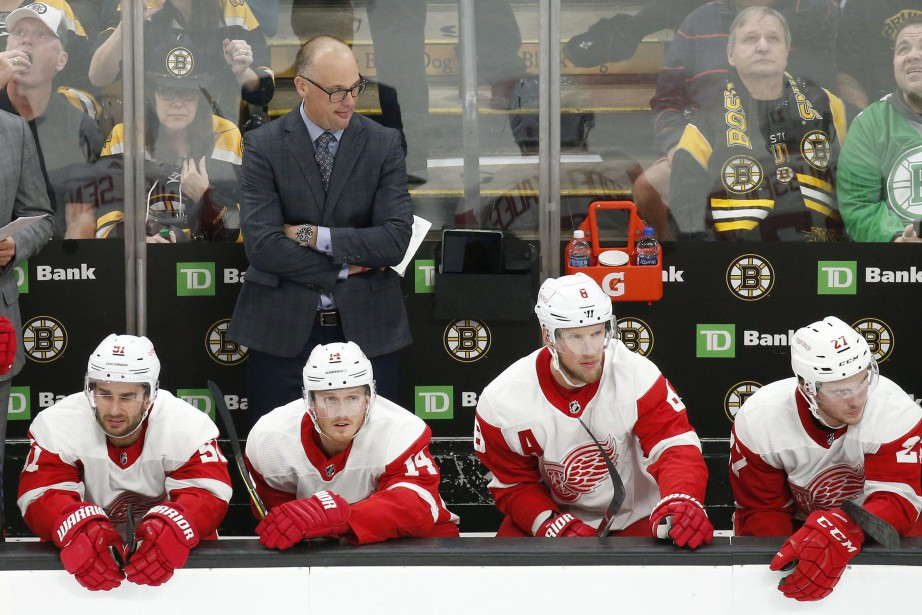 Les Red Wings de Detroit n'ont toujours pas... (Photo Mary Schwalm, AP)