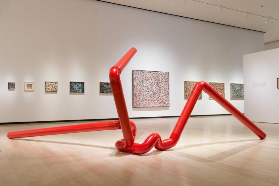 La sculpture Pipe's Dream 5 réalisée en 1973-1974... (Photo Idra Labrie, fournie par le MNBAQ)