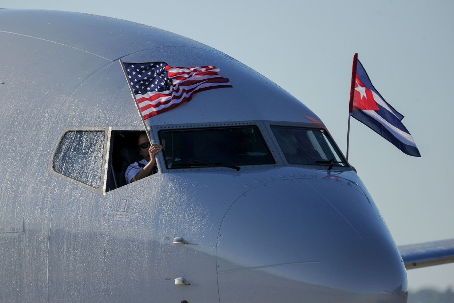 Les vols de compagnies aériennes américaines ont été... (PHOTO AFP)