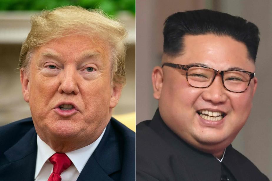 Ces commentaires de Pyongyang menacent de troubler les... (Photo NICHOLAS KAMM SAUL LOEB, AFP)