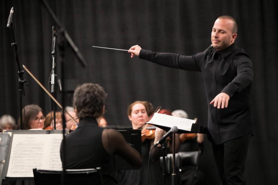 Le chef YannickNézet-Séguin et l'Orchestre Métropolitain... (Photo Olivier Jean, Archives La Presse)