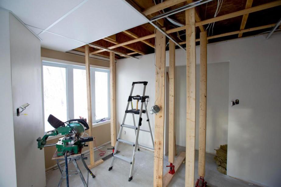 Les travaux réalisés sur un immeuble ou dans... (photo alain roberge, archives la presse)