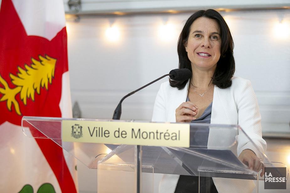 La mairesse de Montréal, Valérie Plante.... (David Boily, archives La Presse)