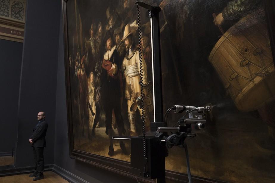 Les amateurs d'art vont pouvoir assister en direct... (Photo Peter Dejong, AP)