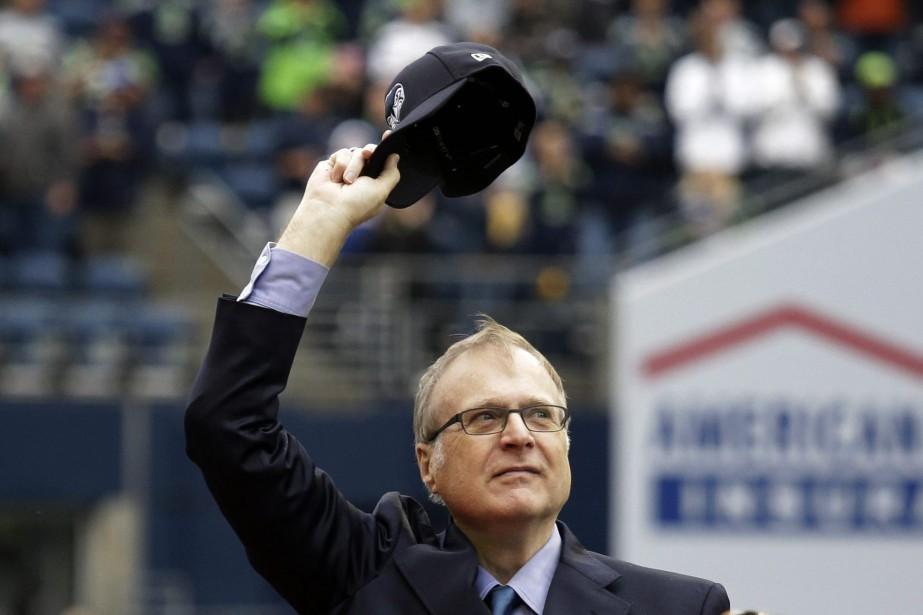 M.Allen est décédé lundi à Seattle des suites... (Photo Elaine Thompson, AP)
