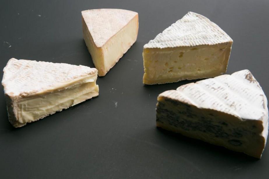 La fromagerie Île-aux-Grues lance cet automne six nouveaux... (Photo François Roy, La Presse)