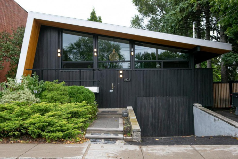 La maison de l'architecte Kim Pariseau a été... (Photo David Boily, La Presse)