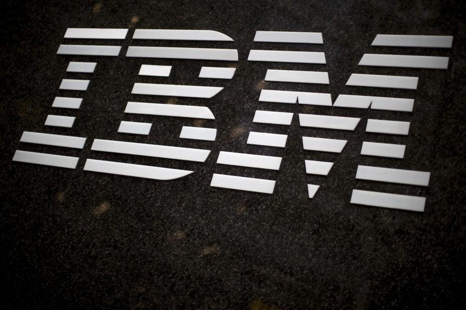 Le groupe informatique américain IBM, qui... (Photo Mary Altaffer, archives AP)