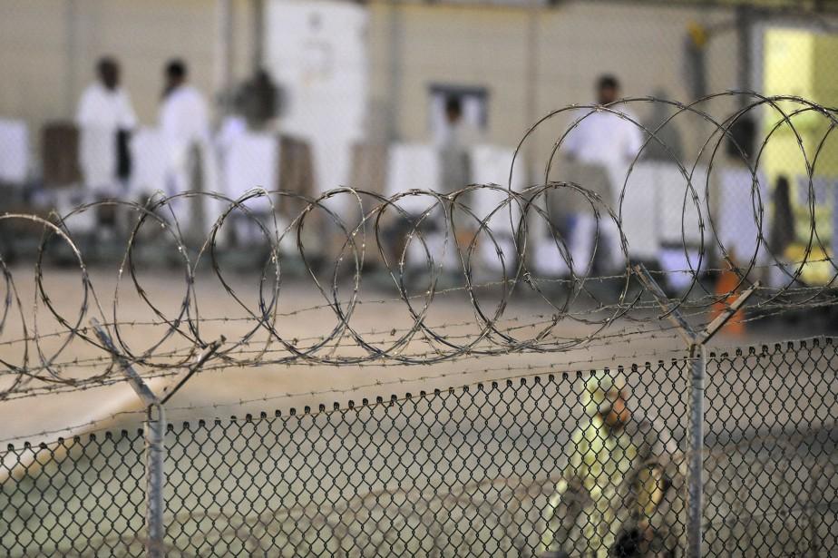 Le centre de détention n'abrite plus que 40... (PHOTO REUTERS)