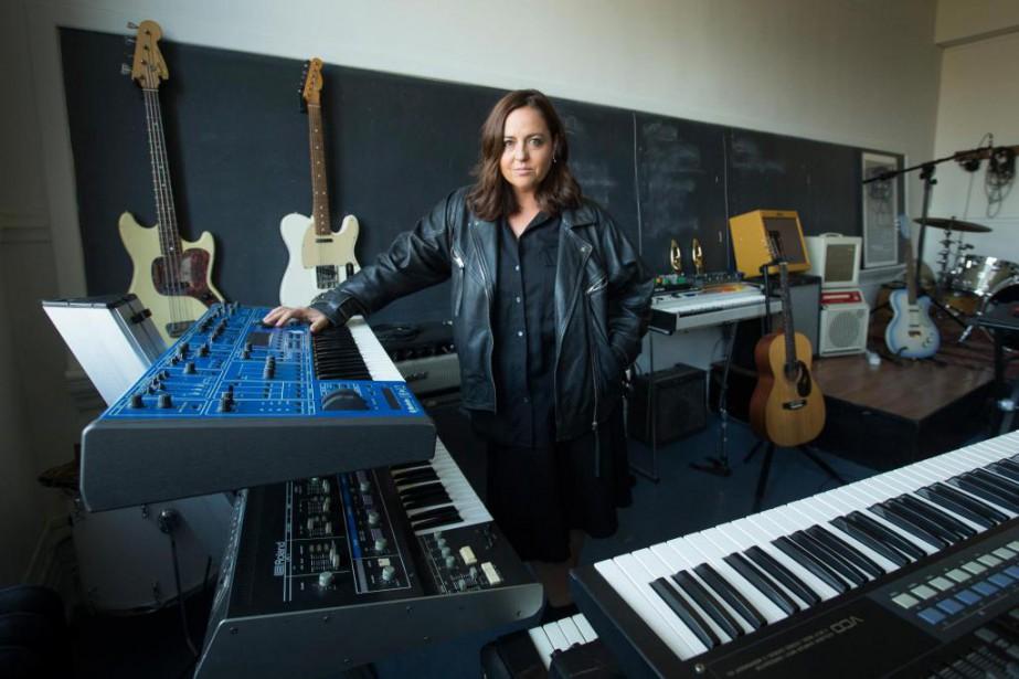Ariane Moffatt a travaillé les nouvelles compositions de... (Photo Ivanoh Demers, La Presse)