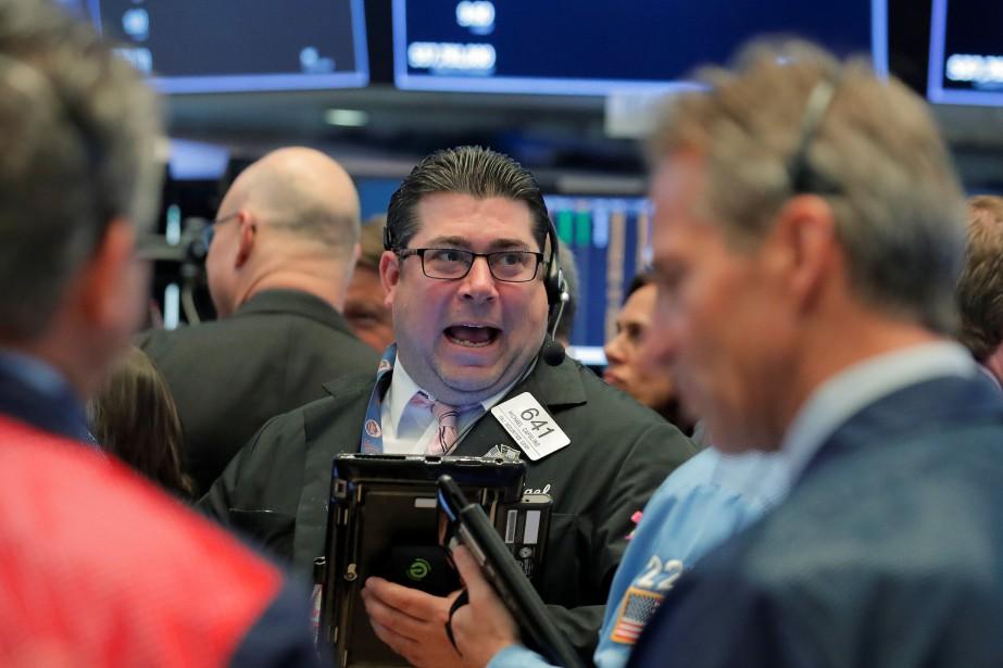 Wall Street a lâché une petite partie des... (Photo BRENDAN MCDERMID, REUTERS)