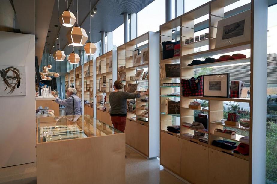 La nouvelle boutique a été installée dans le... (Photo André Pichette, La Presse)
