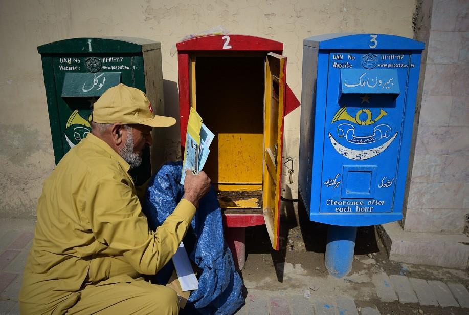 Le traité de l'Union postale universelle a mis... (PHOTO AFP)