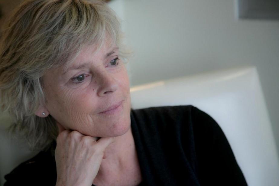 Hélène Dorion donnera deux causeries, le 17 octobre,... (Photo René Marquis, fournie par les éditionsDruide)