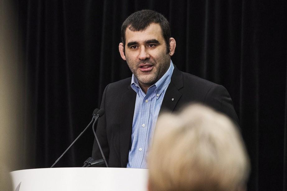 Le directeur général et directeur haute performance de... (Photo Aaron Vincent Elkaim, archives La Presse canadienne)