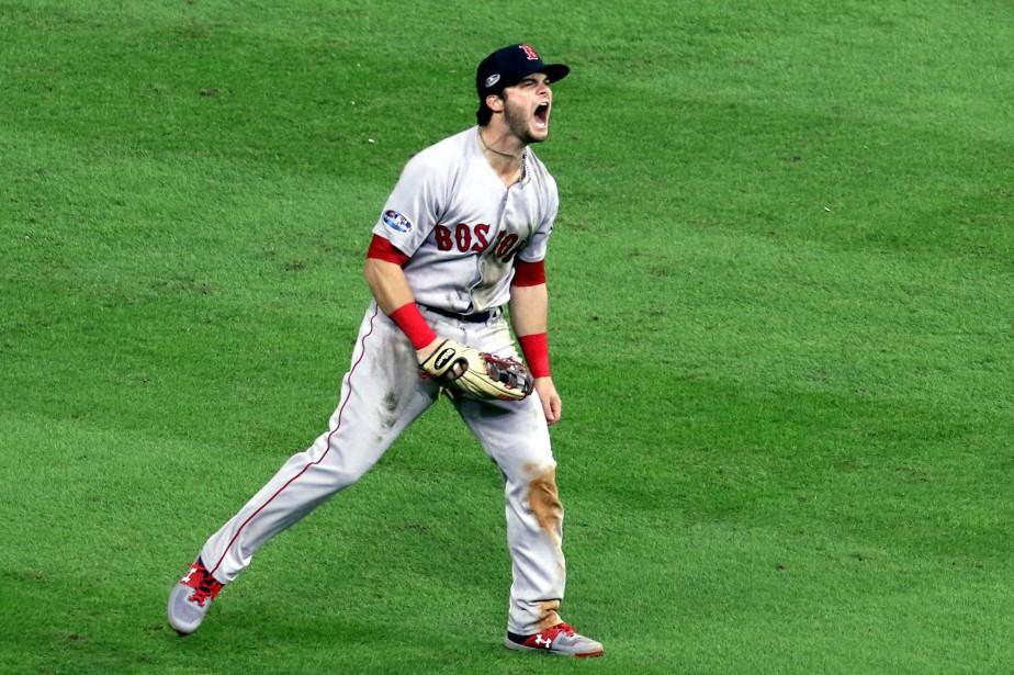 Le voltigeur des Red Sox Andrew Benintendi a... (Photo John Glaser, USA TODAY Sports)