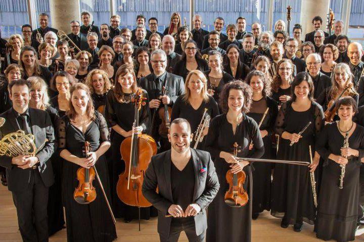 Les membre de l'Orchestre Métropolitain de Montréal.... (Photo de François Goupil fournie par les RIDM)