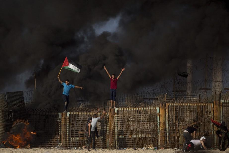 «Gaza est en train d'imploser. Ce n'est pas... (Photo Khalil Hamra, Associated Press)
