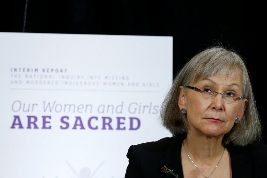 La commissaire en chef de l'enquête, Marion Buller... (Photo CHRIS WATTIE, REUTERS)