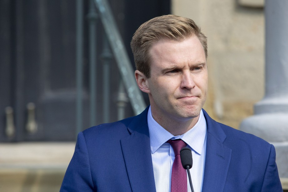 Le premier ministre libéral du Nouveau-Brunswick, Brian Gallant,... (Photo James West, LA PRESSE CANADIENNE)