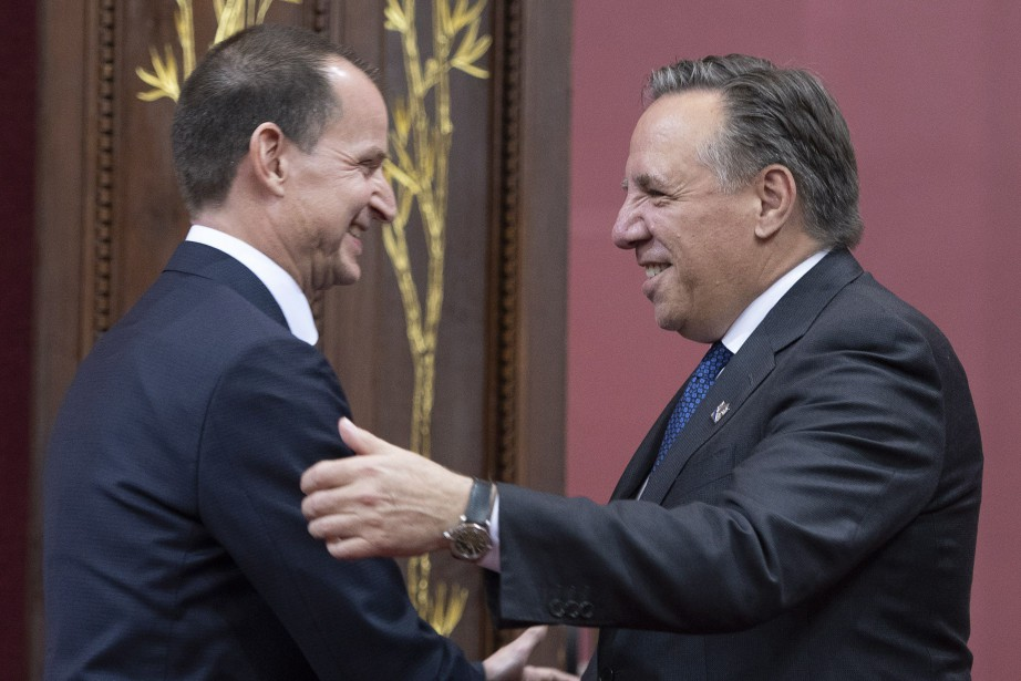 Éric Girard sera le ministre des Finances de... (Photo Jacques Boissinot, La Presse canadienne)