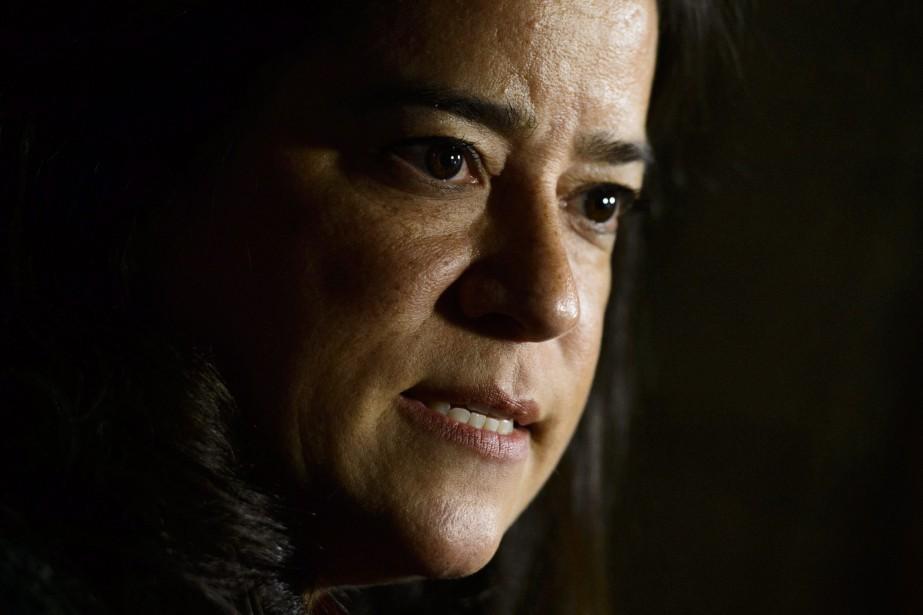 La ministre de la Justice, Jody Wilson-Raybould.... (Photo Sean Kilpatrick, La Presse canadienne)