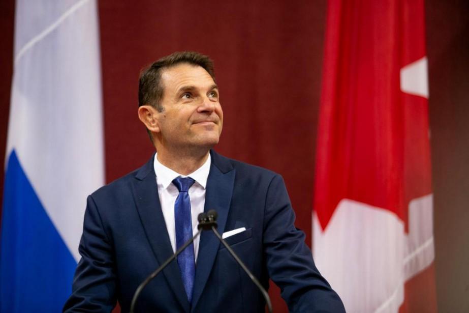 En tant que nouveau ministre des Transports, François... (photo david boily, la presse)